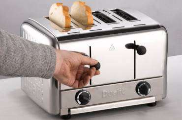 Convenience of a pop-up toaster