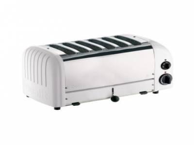 Dualit 6 Slice Vario Toaster White 60146