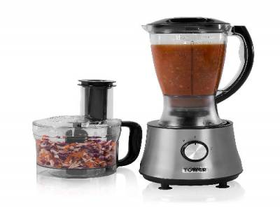 Tower T18002 2-in-1 Food Processor and Blender