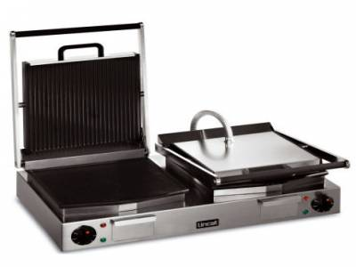 Lincat Lynx 400 Electric Twin Ribbed Grill LRG2
