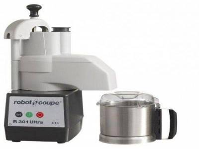 R 301 Ultra Food Processor: Cutter & Vegetable Slicer