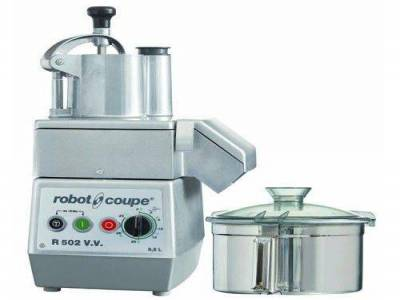 R 502 V.V. Food Processor: Cutter & Vegetable Slicer
