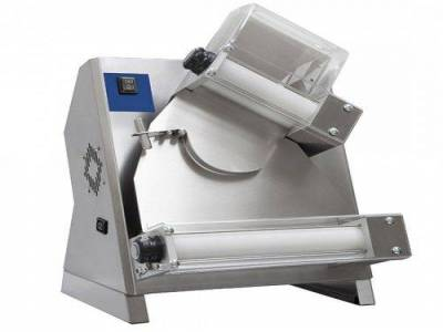 dough rolling machine with 2 rollers for pizzas ø 260-400 mm
