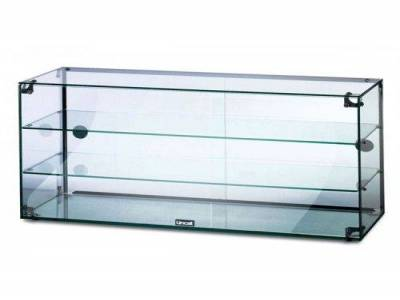 Glass Display Cabinet with Doors