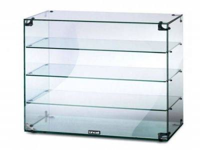 Glass Display Cabinet without Doors