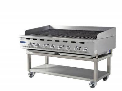 Hobart Cooking Solutions Bonnet BCB900 900mm Natural Gas Charbroiler