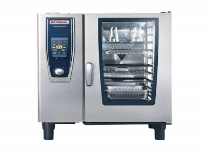 Rational SCCXS 6 Grid 2/3GN Electric Self Cooking Center