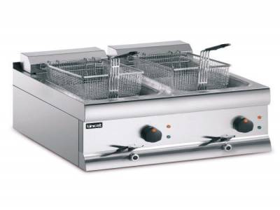 Lincat Twin Tank Twin Basket Countertop Electric Fryer DF66