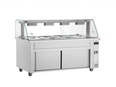 Bain Marie with Glass Structure
