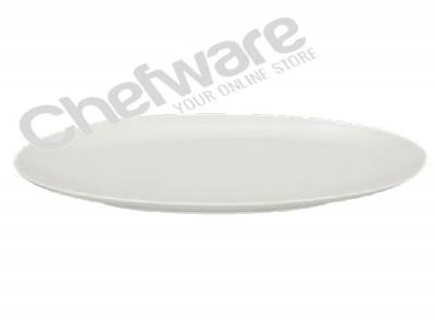 Hotelware Oval Coupe Plates 25cm (Dia) / 10