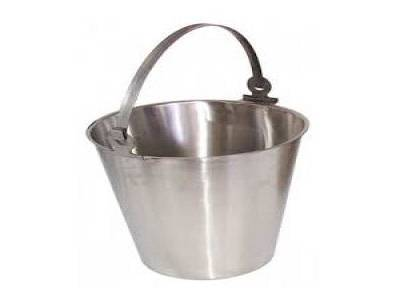 Bucket Stainless Steel 12 Ltr