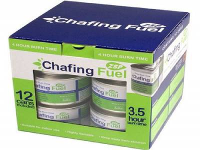 CHAFER GEL ETHANOL FUEL 3.5 HOUR (PK OF 12)