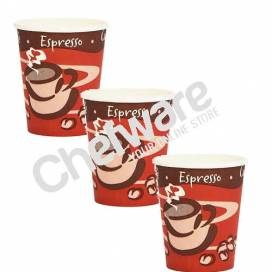 Paper Coffee  Hot Drinks Cups  8oz - 25CL box of 1000