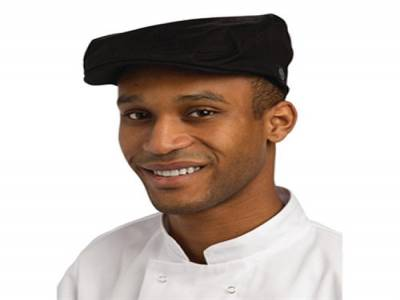 Chef Works Driver Cap Black L