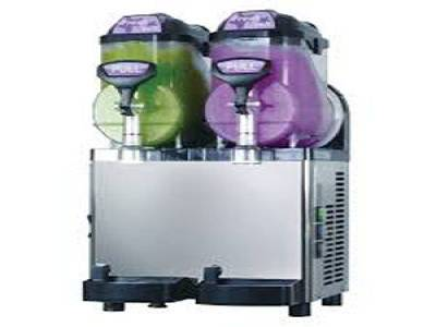 Blue Ice Twin Canister Slush Machine M17 5X2