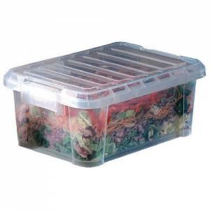 Food Transparent Box with Lid 14 Lt