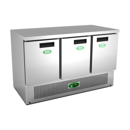 refrigerator table. refrigerator prep table