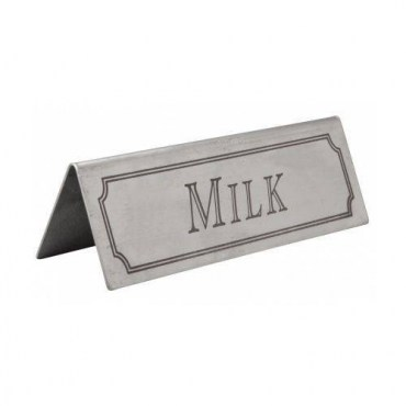 3466-Stainless-Steel-Milk-Table-Sign