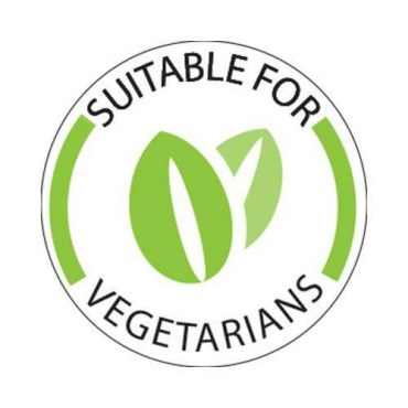 Vegetarian-Dot-Label